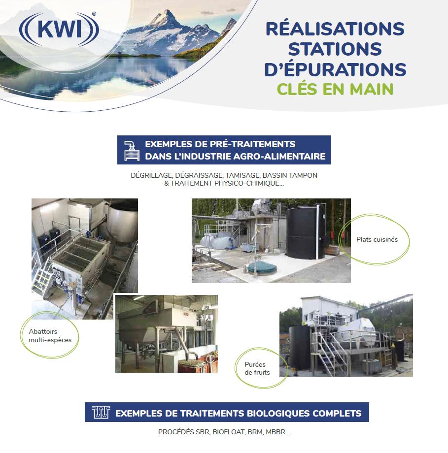 Image du document pdf : KWI France - Réalisations de stations d'épurations clés en mains