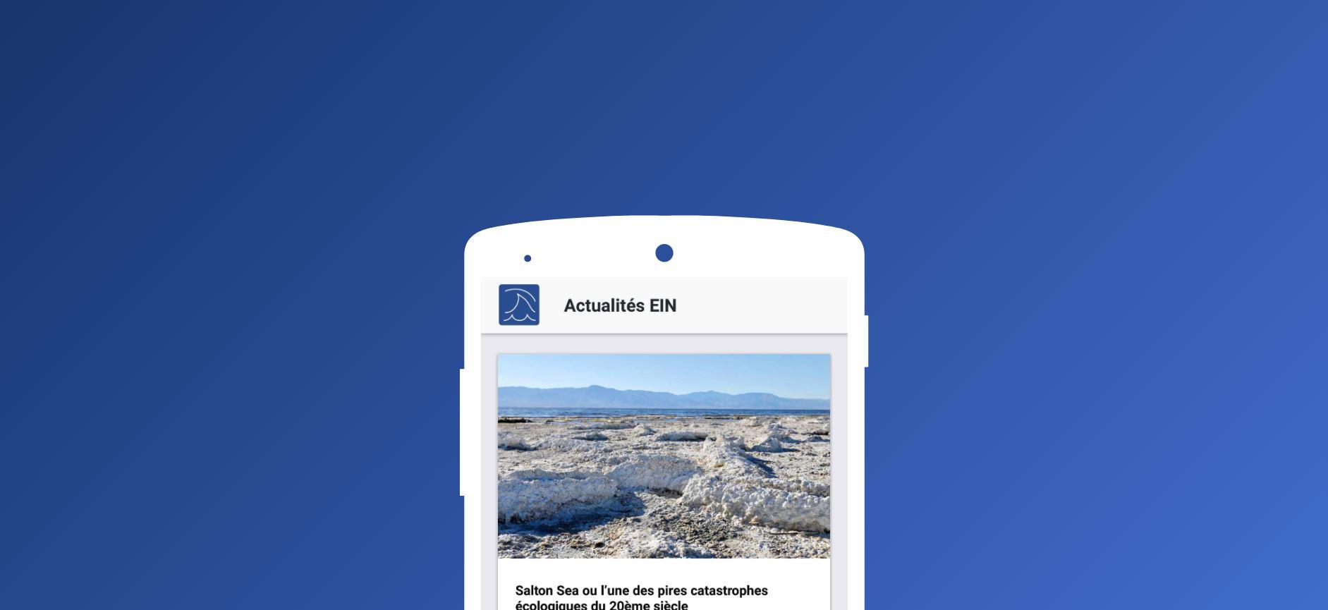 Image de présentation          La Revue l'Eau, l'Industrie, les Nuisances a désormais son application!